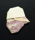 """YOSUKE HASEGAWA - Money- Origami """"Gandi"""""""