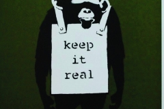 BANKSY, Keep it Real, 2008